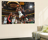 Boston, MA - June 3: Keyon Dooling and Dwyane Wade Poster by Jesse D. Garrabrant