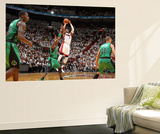 Miami, FL - May 28: Dwyane Wade and Mickael Pietrus Poster af Nathaniel S. Butler