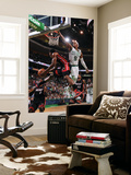 Boston, MA - June 3: Norris Cole and Rajon Rondo Wall Mural by Brian Babineau