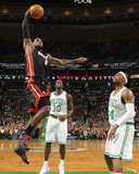Boston, MA - June 3: LeBron James and Paul Pierce Photographic Print by Brian Babineau