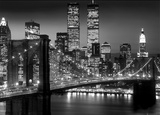 New York-Brooklyn Bridge Print