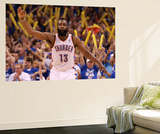 Oklahoma City, OK - June 2: James Harden Wall Mural by Ronald Martinez