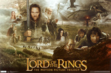 Lord of the Rings Trilogy Poster Print Lámina