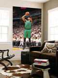 Miami, FL - May 28: Paul Pierce Wall Mural by Nathaniel S. Butler