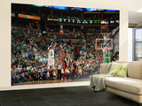 Boston, MA - June 3: Rajon Rondo Wall Mural – Large by Jesse D. Garrabrant