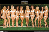 Maxim Hometown Hotties in White Posters