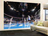 Oklahoma City, OK - June 2:  Tony Parker Wall Mural – Large af Layne Murdoch