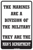 The Marines… Tin Sign