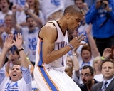 Oklahoma City, OK - June 2: Russell Westbrook Photographic Print by Brett Deering