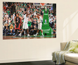 Boston, MA - June 3: Kevin Garnett and Paul Pierce Print by Jesse D. Garrabrant