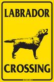 Labrador Crossing Plakietka emaliowana