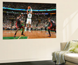 Boston, MA - June 3: Paul Pierce Wall Mural by Jesse D. Garrabrant