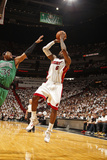 Miami, FL - May 28: LeBron James and Paul Pierce Photographic Print by Issac Baldizon