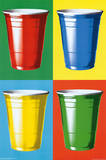 Party Cups Pop Art Print