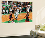 Boston, MA - June 3: Rajon Rondo Art by Jesse D. Garrabrant