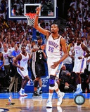 Kevin Durant Celebrates at the end of Game Six of the Western Conference Finals Photo