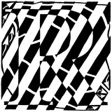 Maze of Uppercase R Posters par Yonatan Frimer
