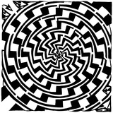 Gradiant Tunnel Swirl Maze Prints by Yonatan Frimer