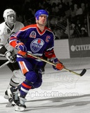 Mark Messier 1990 Stanley Cup Finals Spotlight Action Photo