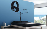 The Headphone of Your Desires Wall Decal