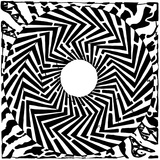 Psychedelic Swirly Maze Mazes Optical Illusio Posters par Yonatan Frimer