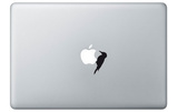 Woodpecker for Mac Laptop Stickers