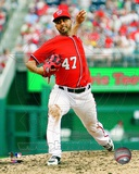 Gio Gonzalez 2012 Action Photo