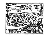 Coca Cola Maze Ad Enjoy Maze Artist Coke Prints by Yonatan Frimer