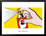 Spray, 1962 Prints by Roy Lichtenstein