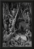 "Gustave Doré (Illustration to Dante's ""Divine Comedy,"" Inferno - Suicides) Art Poster Print Photo"