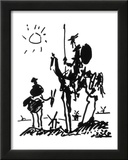 Don Quixote, c.1955 Poster by Pablo Picasso