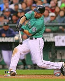 Dustin Ackley 2012 Action Photo
