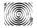 Eliptical Circles Dopler Maze Print by Yonatan Frimer