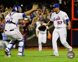 Johan Santana 1st No-Hitter in New York Mets Franchise History, June 1, 2012 Photo