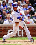 Starlin Castro 2012 Action Photo