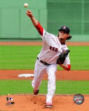 Clay Buchholz 2012 Action Photo