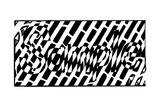 A1 Sample Maze Affiches par Yonatan Frimer