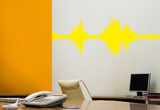 The Sound Spectrum Wall Decal