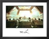 Salvador Dali The Last Supper Art Print Poster Prints