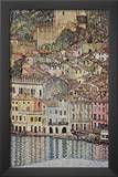 Gustav Klimt (Malcesine on Lake Garda) Art Poster Print Prints