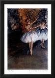 Edgar Degas Dancers On Stage Danseuses Sur Scene Print Poster Posters