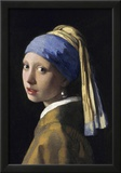 Johannes Vermeer Girl with a Pearl Earring Art Print Poster Posters