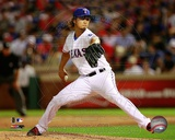 Yu Darvish 2012 Action Foto