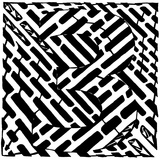 Number Three 3 Maze Prints by Yonatan Frimer