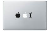 Bite the Apple for Mac Vinilos decorativos para portátiles