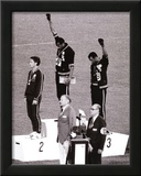 Black Power (Tommie Smith & John Carlos, Olympics, 1968) Photo Print Poster Prints