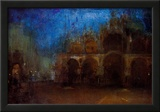 James Whistler Nocturne Blue and Gold Saint Marks Venice Art Print Poster Posters