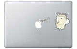 Cupidon for Mac Stickers pour ordinateurs portables