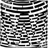 Maze of Uppercase W Affiches par Yonatan Frimer