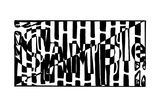 A2 Sample Maze Posters par Yonatan Frimer
